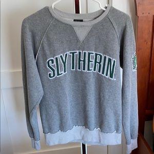 Harry Potter sweatshirt Slytherin house!  Size S